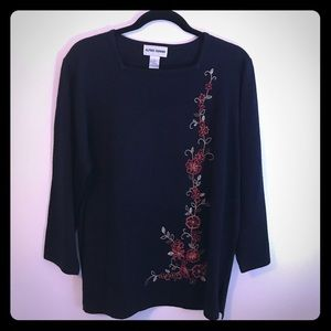 Brand New Alfred Dunner blue pullover